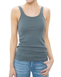 Velvet | Gray Angelina Cotton Tank Top | Lyst