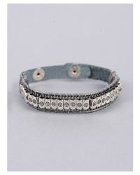 Nakamol - Metallic Single Beaded Wrap Bracelet - Lyst