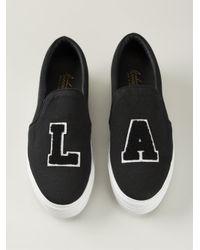 Joshua Sanders - Black 'La' Platform Sneakers - Lyst