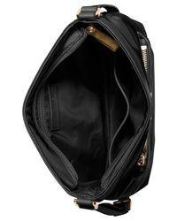 Michael Kors | Black Michael Morgan Medium Messenger Bag | Lyst