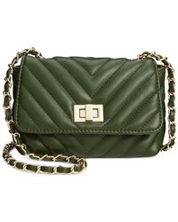 Steve Madden | Green Bchaplin Small Quilted Crossbody | Lyst