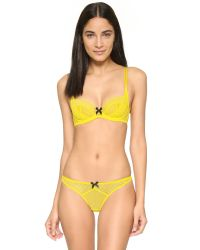 L'Agent by Agent Provocateur | Carla Thong - Yellow | Lyst