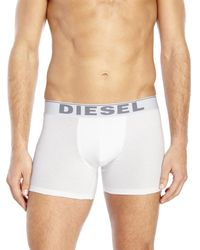DIESEL - White 3-Pack The Essential Long Boxers for Men - Lyst