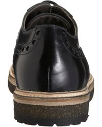 Rocco P - Black Perforated Brogue - Lyst