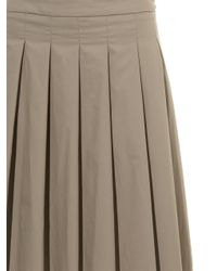 Weekend by Maxmara - Natural Mirage Skirt - Lyst