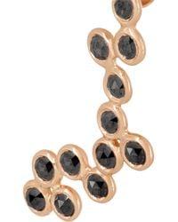 Lito | Metallic Hive 18karat Rose Gold Diamond Earring | Lyst