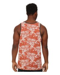 Rip Curl - White Larry Tank Top for Men - Lyst