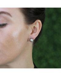 Todd Reed - Metallic Tahitian Pearl And Diamond Stud Earrings - Lyst