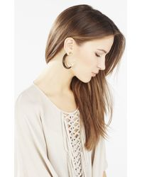 BCBGMAXAZRIA - Metallic Faux Horn Earrings - Lyst
