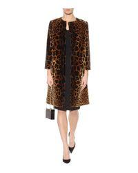 Dolce & Gabbana - Black Wool Crêpe Dress - Lyst