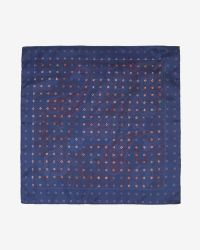 Ted Baker | Blue Double Sided Paisley Pkt Sq for Men | Lyst