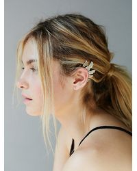 Free People - Metallic Teen Spirit Ear Cuff - Lyst