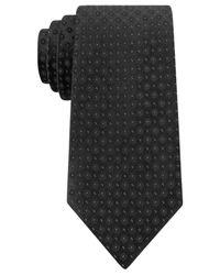 Calvin Klein | Black Reflection Dot Slim Tie for Men | Lyst