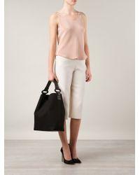 PERRIN Paris | Black Classic Cotton Hobo | Lyst