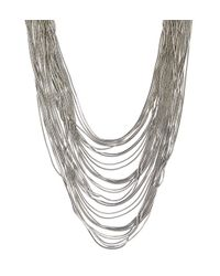 Hobbs | Metallic Gillian Necklace | Lyst