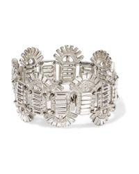 Ben-Amun | Metallic Silver-tone Crystal Bracelet | Lyst