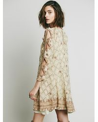 Free People | Natural New Romantics Womens New Romantics Mockingbird Dress | Lyst