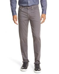 Joe's Jeans | Gray Slim Fit Five-pocket Pants for Men | Lyst