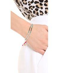 Shashi - Purple Ombre Carlita Bracelet - Lyst