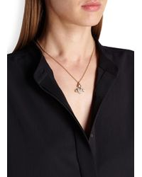 Vivienne Westwood | Metallic Oona Bas Relief Gold Tone Necklace | Lyst