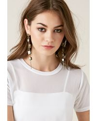 Forever 21 | Metallic Haati Chai Sukha Earrings | Lyst
