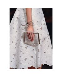 Valentino - Metallic Mini Rockstud Cuff Bracelet - Lyst