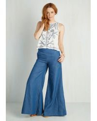 Alythea - Blue Piazza My Heart Pants - Lyst