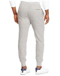 Polo Ralph Lauren | Gray French-rib Drawstring Pant for Men | Lyst