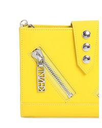 KENZO - Pink Kalifornia Leather Shoulder Bag - Lyst