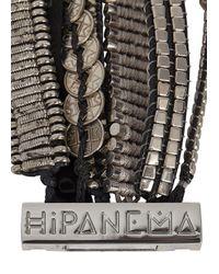 Hipanema - Metallic Silver Tone Embellished Cuff - Lyst