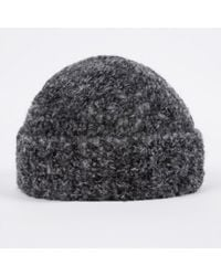 37f446830d4f6 Lyst - Paul Smith Cashmere Cable Knit Hat in Gray for Men