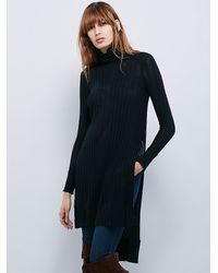 Free People | Black We The Free Womens Espresso Top | Lyst