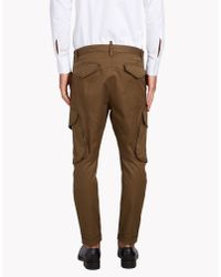DSquared² | Green Casual Trouser for Men | Lyst