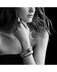 David Yurman - Black Waverly Ring - Lyst