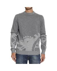 Frankie Morello | Gray Sweater for Men | Lyst