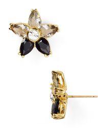 kate spade new york - Metallic Ombre Bouquet Stud Earrings - Lyst