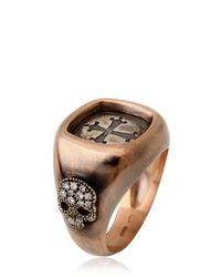 Bonato Milano 1960 - Pink Cross Chevalier Ring for Men - Lyst