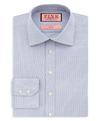 Thomas Pink | Blue Hesling Texture Dress Shirt - Regular Fit for Men | Lyst
