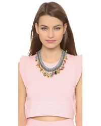 Venessa Arizaga - Multicolor Just Ride Necklace - Cactus - Lyst