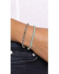 Shashi | Blue Raj Bracelet Pearl | Lyst