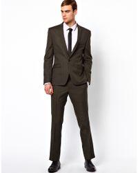 Lambretta - Gray Check Suit Jacket for Men - Lyst