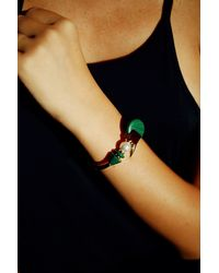 Eshvi | Multicolor Back To School Malachite Cuff | Lyst