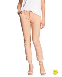 Banana Republic | Orange Factory Ryan-fit Ankle-zip Pant | Lyst