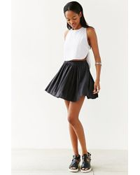 Silence + Noise | Black Edith Skirt | Lyst