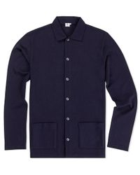 Sunspel | Blue Men's Vintage Wool Jacket for Men | Lyst