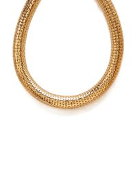 Forever 21 | Metallic Bold Snake Chain Necklace | Lyst