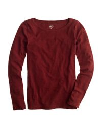 J.Crew - Red Painter Tee - Lyst