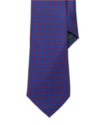 Lauren by Ralph Lauren | Blue Patterned Silk Tie for Men | Lyst