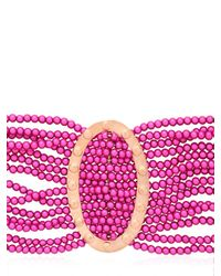 Lucia Odescalchi | Purple Ghiera Bracelet | Lyst