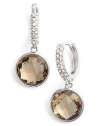 Judith Jack - Metallic Stone Drop Earrings - Lyst